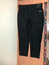 New Men's Nike Vapor Select Baseball Pants Bq6345-010 Xxl Black $40
