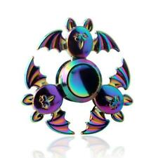 color Bat 3 Hand Spinner Fidget Focus Toy EDC Finger Spin Gyro ADHD Autism