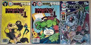 Doomsday +1 (Charlton Comics 1978) #2, #10 & #12 – early John Byrne