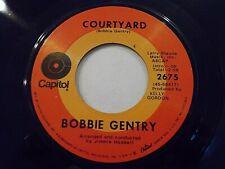 Bobbie Gentry Courtyard / Fancy 45 Capitol Vinyl Record