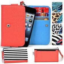 Safari Pattern Protective Wallet Case Clutch Cover for Smart-Phones SFESAMMT-1