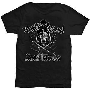 OFFICIAL LICENSED - MOTORHEAD - BASTARDS T SHIRT - METAL LEMMY NEW!