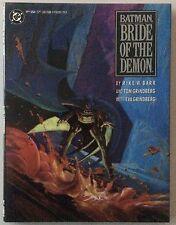 Batman - Bride Of The Demon - Hardcover 1st Printing - Ra's Al Guhl