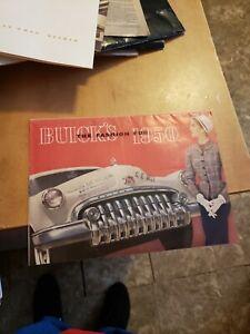 1950 Buick  Brochure