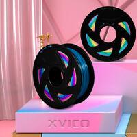 3D Printer Filament PLA Colourful 1.75mm 1KG Rainbow Multicolor Makerbot Colours