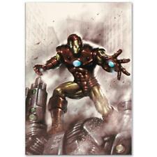 MARVEL Comics Limited Edition Indomitable Iron Man Numbered Canvas Art