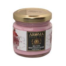 Multi Use Pomegranate Moisturizer Cream Aroma Dead Sea Minerals 3.38fl.oz/100ml
