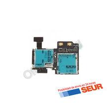 Flex Lector Sim y Lector Tarjeta De Memoria para Samsung Galaxy S4 I9500 , I9505