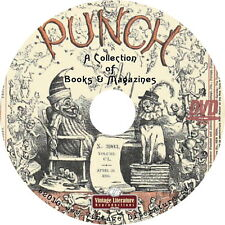 Punch Magazine {Comics and Satire} on DVD