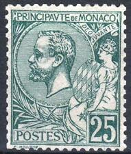 "MONACO STAMP TIMBRE N° 16 "" PRINCE ALBERT 1er 25c VERT "" NEUF xx LUXE  M663"