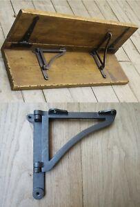 TABLE LEAF SWIVEL BRACKET folding drop worktop shelf support bracket cast iron 1