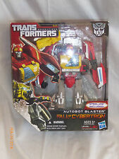 Transformers Fall of Cybertron Autobot Blaster with Steeljaw