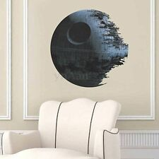 Removable Death Star Wars Wall Stickers Art Vinyl Decal Kids Bedroom Home Decor