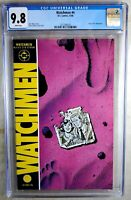 Watchmen #4 Origin Dr. Manhattan D.C. DC 1986 CGC 9.8 NM/MT WPages Comic P0041