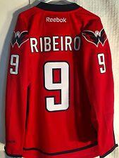 Reebok Premier NHL Jersey Washington Capitals Ribeiro Red sz M