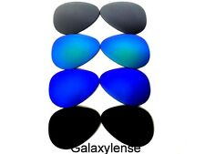 Galaxy Replacement Lens For Oakley Crosshair 2012 Black&Blue&Green&Silver 4Pairs