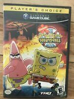 SpongeBob SquarePants Movie (Nintendo GameCube, 2004) Complete