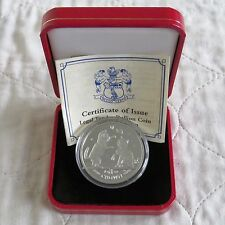 Isle Of Man 2004 1oz Tonkinese Cat .999 Fine Silver Proof Crown - boxed/coa
