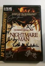 Nightmare Man DVD Signed X7 Tiffany Shepis