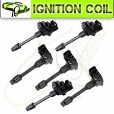 set of 6 Brand New Ignition Coils for Infiniti I30 Nissan Maxima Front