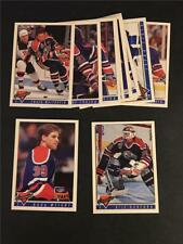 1993/94 Topps Premier Edmonton Oilers Team Set 13 Cards