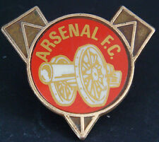 ARSENAL FC Vintage 1970s 80s insert type badge Brooch pin In gilt 36mm x 32mm