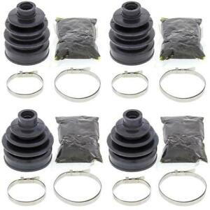 Complete Rear Inner & Outer CV Boot Repair Kit Yamaha YFM700 Grizzly 2007-2008