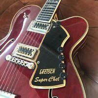 Gretsch USA Super Chet 1973 Luxury Archtop Jazz Electric Guitar Atkins + Case