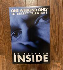 New listing Bo Burnham - Inside Movie Poster - Opening Night - Rare