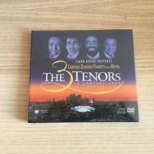 Carreras / Pavarotti / Domingo _ The 3 Tenors in Concert 1994 _ CD + DVD _SEALED