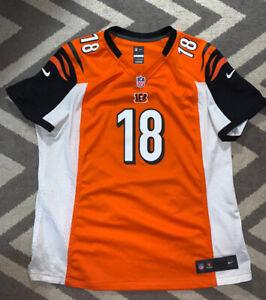 Nike NFL On Field AJ Green Cincinnati Bengals Football Jersey Youth XXL/ Adult M