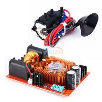 12V-30V ZVS Tesla Coil Flyback Driver + Ignition Coil For SGTC Marx Generator oe