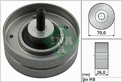 INA 532052410 Guide Pulley