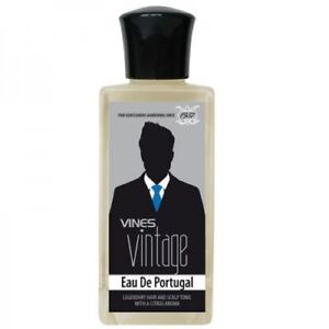 2 x Vines Vintage Eau De Portugal Scalp Tonic For Well Groom Gent Styling 200ml