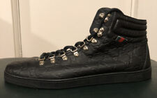 Men's Gucci Sneaker Debossed Monogram Size 11.5 Black