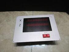 FANUC DISPLAY UNIT A20B-0007-0410 CNC 6T 2 AXIS DISPLAY MONITOR
