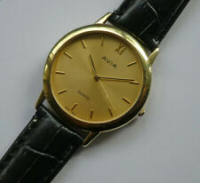 Vintage Avia Watch Gold Plated
