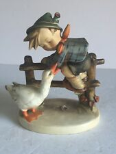 "New ListingVintage Goebel M I Hummel Figurine Banyard Hero Tmk2 5 5/8"" Tall Model 195"