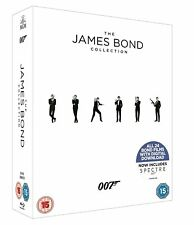 JAMES BOND COMPLETE COLLECTION 1-24 BOX SET 24 DISC BLU-RAY 2017 EDITION RB NEW