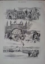 Antique (Pre-1900) White Military Art Prints