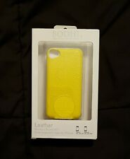 bodhi iphone 4 4s yellow leather case slide keyboard