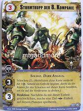 Warhammer 40000 Conquest LCG - 1x #001 Sturmtrupp der 8. Kompanie - Dschungel vo