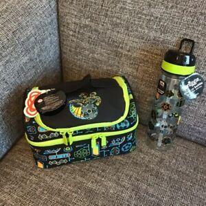 BOYS Smiggle Far Away School Sandwich Lunch Box Bag & Water Drinks Bottle