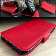 1984™  Ultra Low Profile  Real Leather Wallet  Case RED  For HUAWEI P30