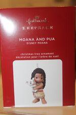 Hallmark 2020 Moana and Pua Precious Moments Disney Keepsake Ornament