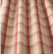 iliv Lana Art Deco Tartan Cherry Curtain Fabric Lounge/Dining Room etc