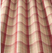 iliv Lana Art Deco Tartan Cherry Curtain Fabric Lounge/Dining Room etc