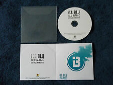 Rare Promo,Brand New, ILL BLU - BLU MAGIC Featuring Max Marshall,1 Track CD 2014