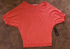 WOMENS URBANE (MYER) CORAL TOP -  SIZE 8  *BNWT*