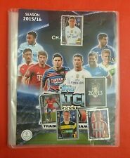 MATCH ATTAX CHAMPIONS LEAGUE 2015/16 COLLECTOR BINDER & 86 CARDS * TOPPS